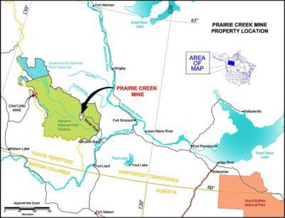 Prairie Creek Property Locator Map