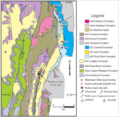 Map of Regional Geology