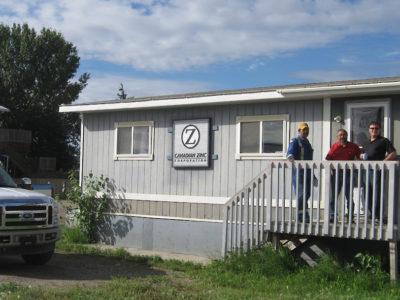 Canadian Zinc's Fort Simpson Office