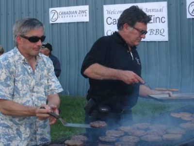 Canadian Zinc Community BBQ in Fort Simpson