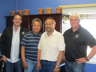 NZC discusses scholarship with Grand Chief