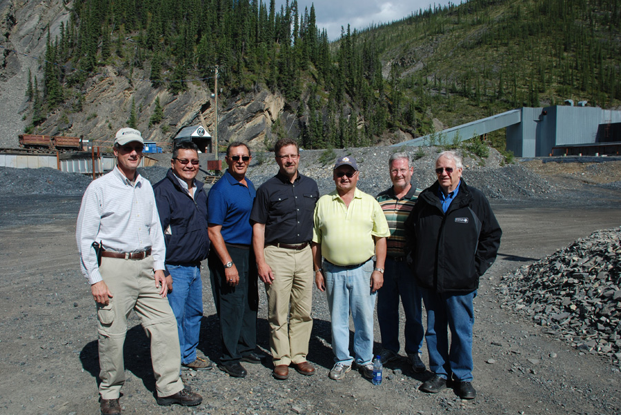 Hon. Minister of INAC Strahl and Review Board Members